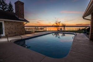luxury river front home Ormond Beach 1240 John Anderson Drive