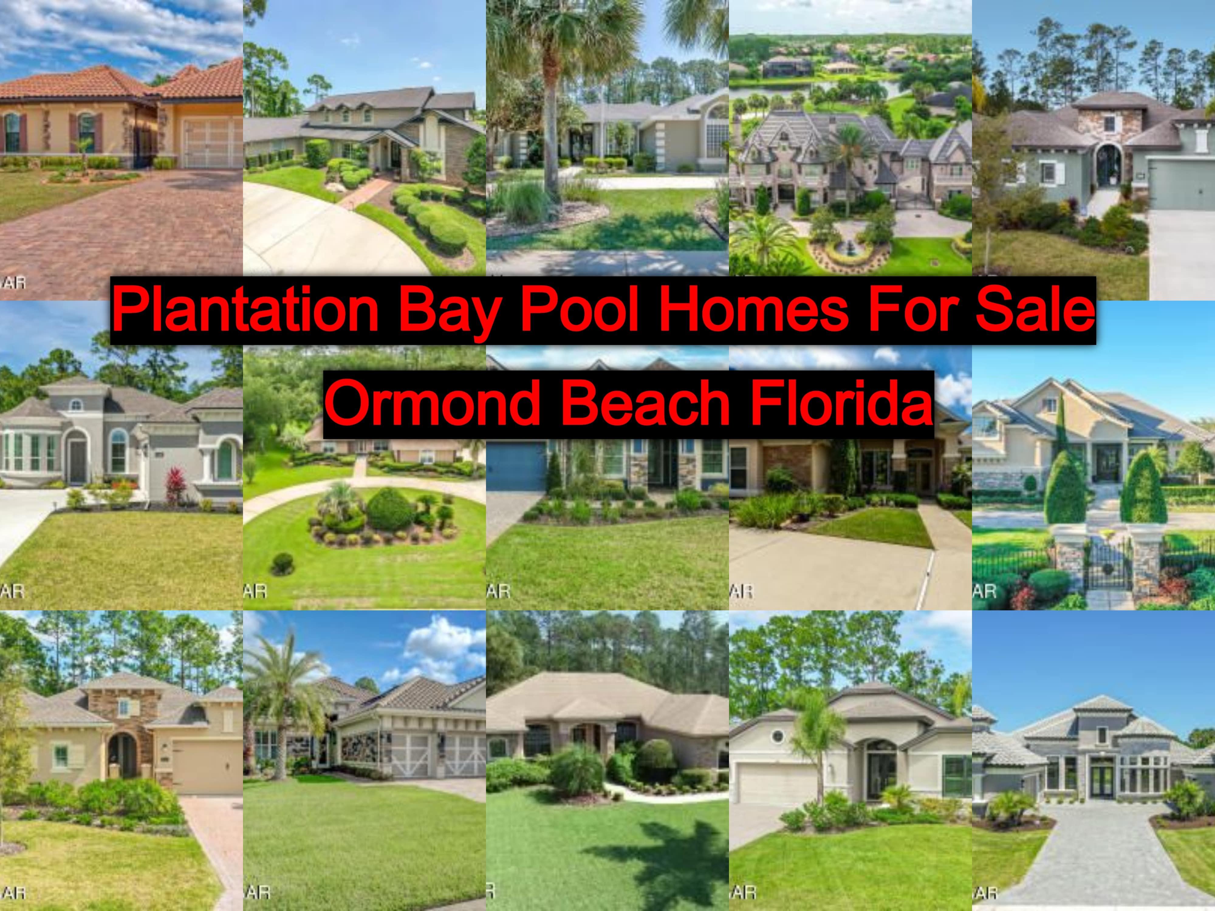 Gated Golf Community Homes For Sale Plantation Bay Ormond ...